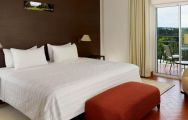 The Penina Golf Resort Hotel's impressive double bedroom situated in gorgeous Algarve.