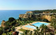 View Pestana Viking Beach  Spa Resort's beautiful sea view within dramatic Algarve.