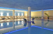 The Pestana Viking Beach  Spa Resort's beautiful indoor pool in amazing Algarve.