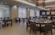The Sao Rafael Suites Hotel's impressive restaurant situated in amazing Algarve.