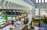 View Shangri La Le Touessrok Resort  Spa's lovely restaurant in astounding Mauritius.