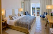 View The Lake Resort's picturesque double bedroom in spectacular Algarve.