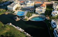 View the picturesque Lake Resort situated in pleasing Algarve.