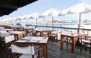 The Tivoli Marina Portimao's scenic restaurant within breathtaking Algarve.