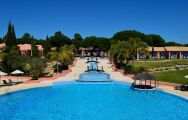 The Vila Sol Golf Resort Hotel's scenic main pool in sensational Algarve.