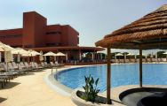 The Vila Sol Golf Resort Hotel's scenic outdoor pool situated in marvelous Algarve.