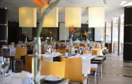 The Vila Sol Golf Resort Hotel's impressive restaurant within brilliant Algarve.