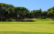 The Dom Pedro Millennium Golf Course's picturesque golf course in dazzling Algarve.