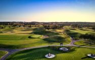 View Dom Pedro Victoria Golf Course's picturesque golf course within dazzling Algarve.