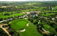 The Espiche Golf Course's impressive golf course situated in breathtaking Algarve.