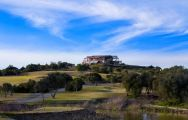 The Espiche Golf Course's scenic clubhouse in sensational Algarve.