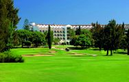 The Penina Championship Course's beautiful golf course in brilliant Algarve.