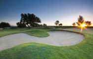 The Pestana Vale da Pinta Golf Course's impressive golf course situated in astounding Algarve.