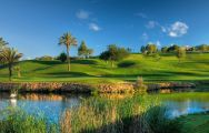 The Pinheiros Altos Golf Club's lovely golf course situated in dazzling Algarve.