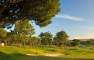 View Pinheiros Altos Golf Club's lovely golf course situated in pleasing Algarve.