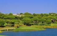 The Pinheiros Altos Golf Club's beautiful golf course within faultless Algarve.