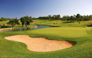 The Pinheiros Altos Golf Club's impressive golf course situated in fantastic Algarve.