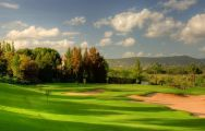 View Pinheiros Altos Golf Club's beautiful golf course within fantastic Algarve.