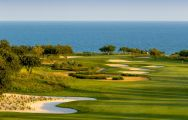 The Quinta da Ria Golf Course's scenic golf course in gorgeous Algarve.