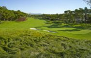The Quinta do Lago North's picturesque golf course within stunning Algarve.