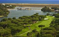 The Quinta do Lago South's impressive golf course situated in gorgeous Algarve.