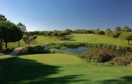 View San Lorenzo Golf Course's scenic golf course situated in gorgeous Algarve.