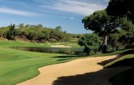 The San Lorenzo Golf Course's lovely golf course within sensational Algarve.