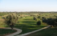 The Silves Golf's lovely golf course situated in staggering Algarve.