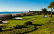 The Vale do Lobo Ocean Course's picturesque golf course within gorgeous Algarve.
