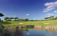 View Vale do Lobo Royal Golf Course's lovely golf course within impressive Algarve.
