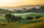The Costa Navarino - The Dunes Course's picturesque golf course in pleasing Greece.