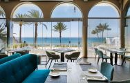 The Hotel do Mar's scenic restaurant with a breathtaking sea view in sensational Lisbon.