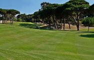 The Estoril Palacio Golf Course's impressive golf course situated in gorgeous Lisbon.