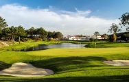 View Praia d'el Rey Golf Course's lovely golf course in magnificent Lisbon.