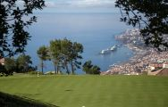 The Palheiro Golf's beautiful golf course within staggering Madeira.