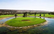 The Almerimar Golf Club's impressive12th hole situated in sensational Costa Almeria.