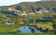 Valle del Este Golf Course's picturesque golf course in dramatic Costa Almeria.