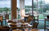 The Husa Alicante Golf Hotel's impressive restaurant within impressive Costa Blanca.