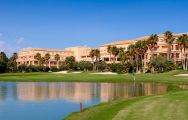 View Husa Alicante Golf Hotel's scenic golf course within stunning Costa Blanca.