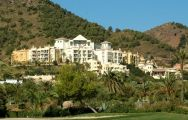 View Las Lomas Village Apartments beautiful hotel in striking Costa Blanca.