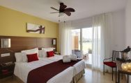 The Residences at Mar Menor Golf Resort's lovely double bedroom situated in marvelous Costa Blanca.