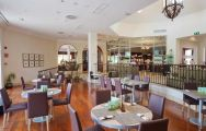 The Residences at Mar Menor Golf Resort's lovely restaurant within dramatic Costa Blanca.