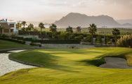 The La Finca Golf Club's scenic golf course in sensational Costa Blanca.