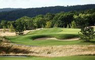 The El Prat Golf Club's impressive golf course situated in astounding Costa Brava.