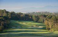 The PGA Catalunya Tour Course's beautiful 5th hole in striking Costa Brava.