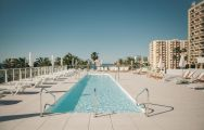The Hotel Alay's lovely main pool situated in brilliant Costa Del Sol.