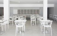 The Hotel Alay's beautiful buffet restaurant within gorgeous Costa Del Sol.