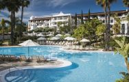 The Westin La Quinta Golf Resort's scenic main pool situated in gorgeous Costa Del Sol.