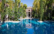 View Villa Padierna Palace Hotel's lovely main pool situated in pleasing Costa Del Sol.