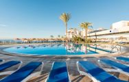 View VIK Gran Hotel's scenic main pool in sensational Costa Del Sol.